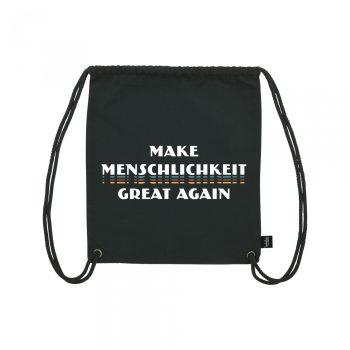 Make Menschlichkeit Great Again - Gym Bag