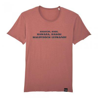 Hauptsoch Leiwand! - Herren-T-Shirt