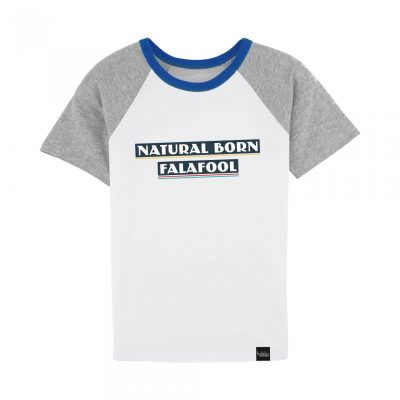 Natural Born Falafool - Kids T-Shirt