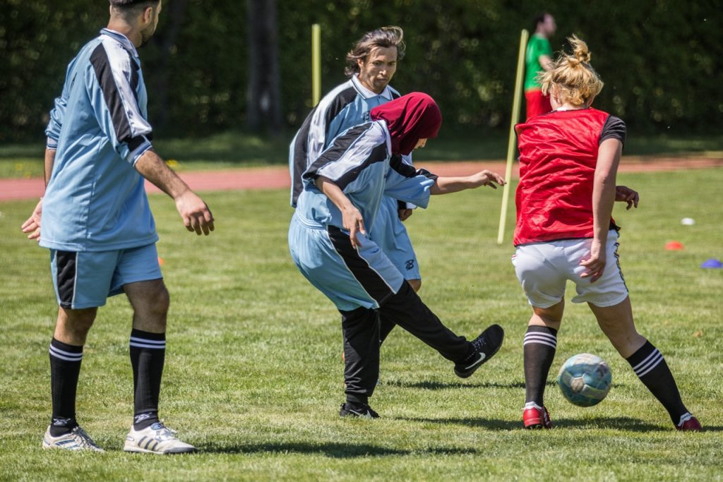 Kicken ohne Grenzen - Match