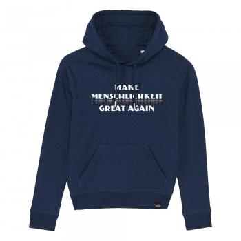 Make Menschlichkeit Great Again - Damen-Hoodie